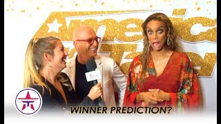 AGT Prediction Battle: Tyra Banks & Howie Mandel ARGUE Over Who Will Win?