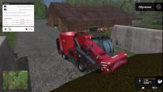Урок 12: Кормление коров, Farming Simulator 2015