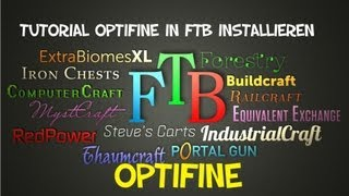 Tutorial Optifine in FTB installieren [German] [HD]