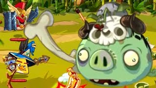 Angry Birds Epic ♥ Hardest Super Villains Of Piggy Island - Ep2 HD