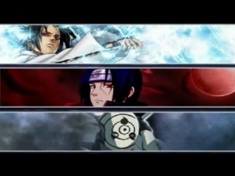 Sasuke (Susanoo) vs Itachi vs Obito Uchiha | Bleach vs Naruto 2.6 | BvN Battle