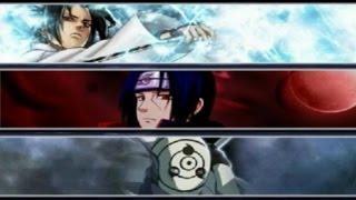 Sasuke (Susanoo) vs Itachi vs Obito Uchiha | Bleach vs Naruto 2.6