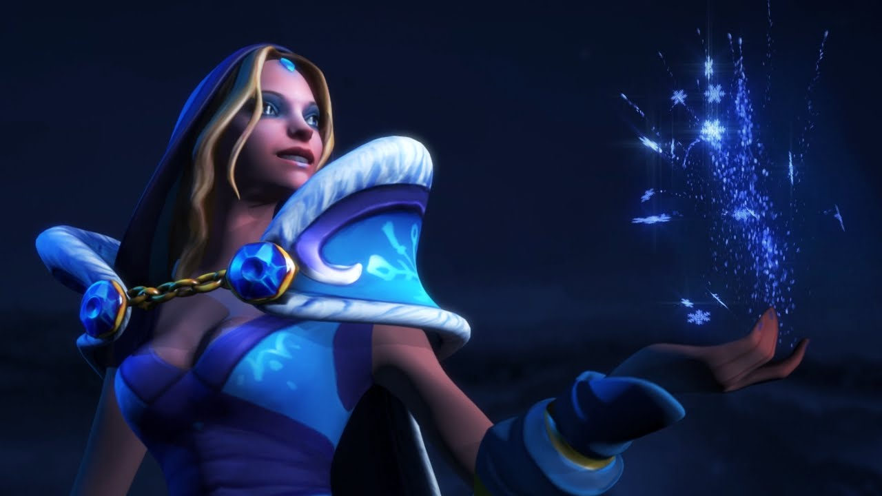 Frozen Let It Go With Crystal Maiden A Dota2 Frozen