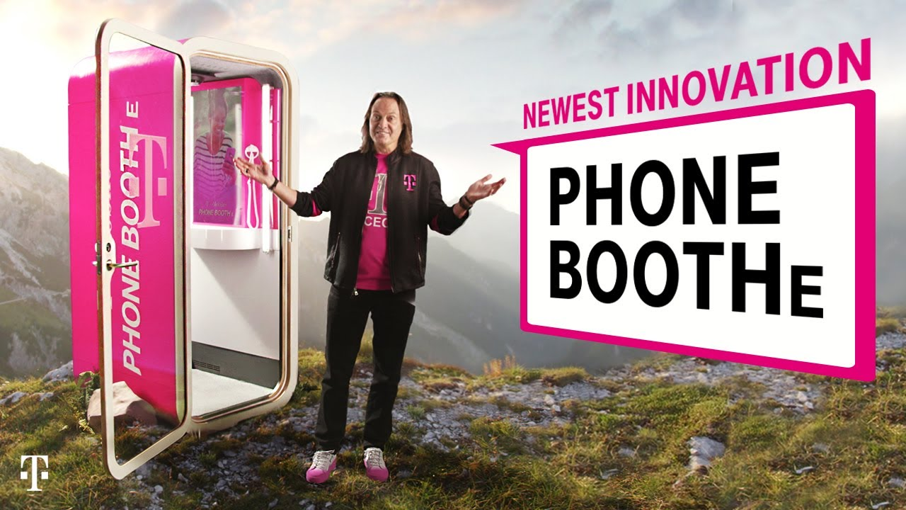 Happy April Fools' Day 2019: T-Mobile's Phone BoothE