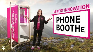 T Mobile Phones - John Legere Introduces T-Mobile Phone BoothE: T-Mobile's NEWEST Innovation