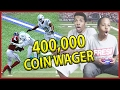 HIGH STAKES 400,000 COIN WAGER!! - MUT Wars Ep.49 | Madden 17 Ultimate Team mp3