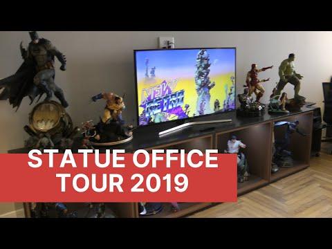 Statue Collection Office Tour 2019 (XM, Iron Studios, Sideshow Collectibles, Prime1)