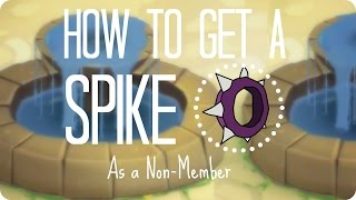 animal jam   how to get a spike as non member 2016