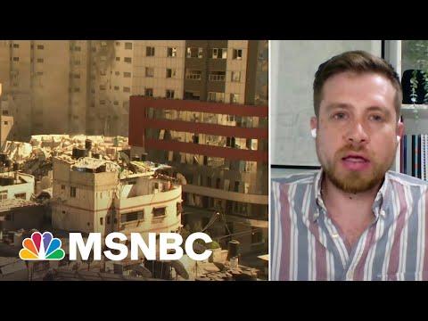 Fmr. IDF Soldier: Gaza Is A 'Man-Made Crisis'   MSNBC