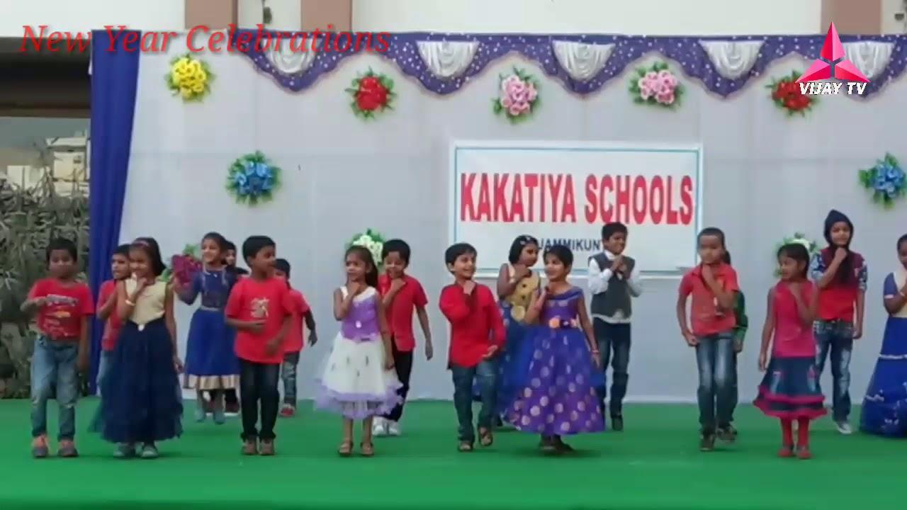 Kakatiya Schools Jammikunta New Year Celebration 2018