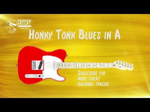 Honky Tonk Blues in A