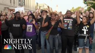 More Than 140 People Arrested In St  Louis Protests | NBC Nightly News