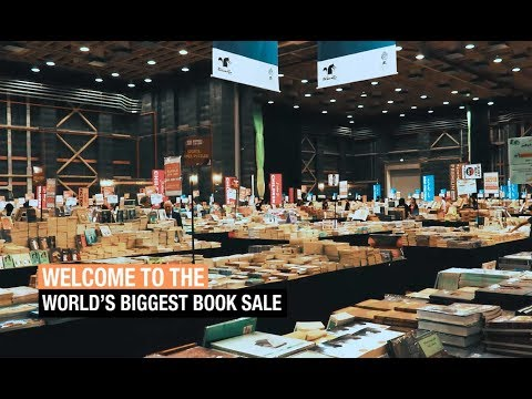 The world's biggest book sale has arrived in Dubai