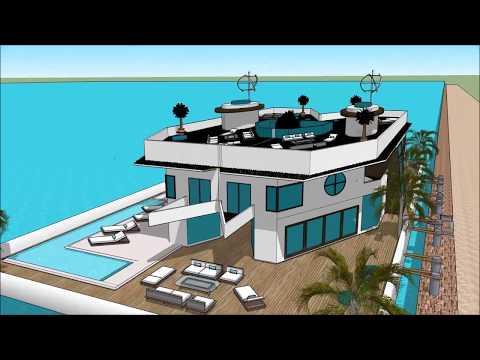 modern-hausboot-venedig-wohnmobil-chartern-architektur-fachbegriffe-architekt-designs-gebai-le-palai