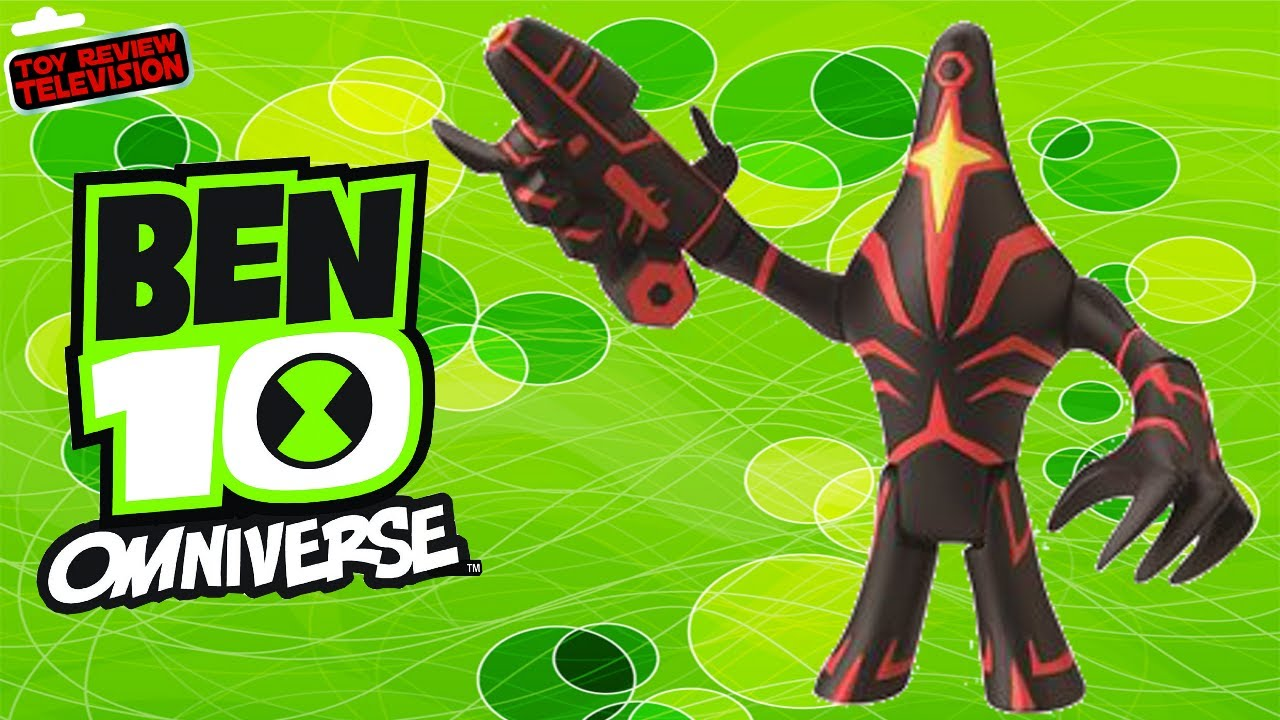 Ben 10 Omniverse Malware Action Figure Toy Review Unboxing Bandai Youtube