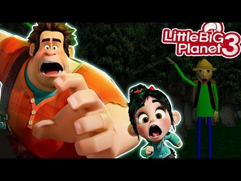 LittleBigPlanet3 | Wreck It Ralph - *SPooPy* Camping