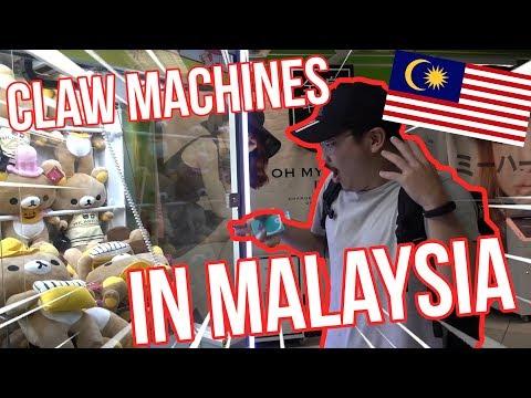 CLAW MACHINES IN MALAYSIA!!! - Arcade Ninja