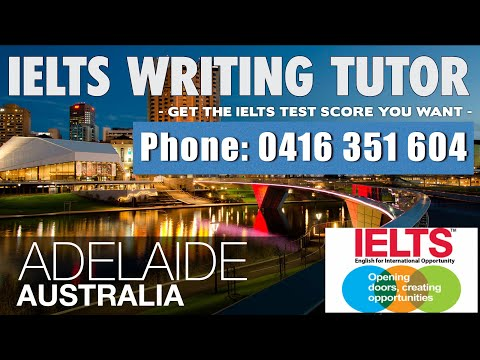 IELTS Private Tutor Adelaide