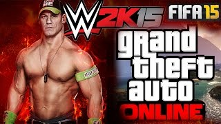 GTA Online i WWE 2K15 Strim (Mozhebi i FIFA 15)