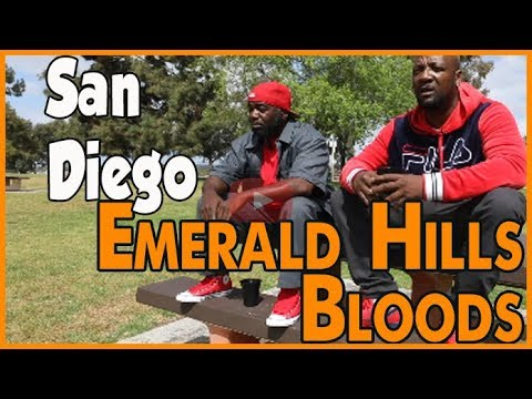 Emerald Hills Bloods history from Southeast San Diego (pt 1of2)