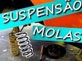 SUSPENS�O - OPALA TROCA DAS MOLAS DIANTEIRAS