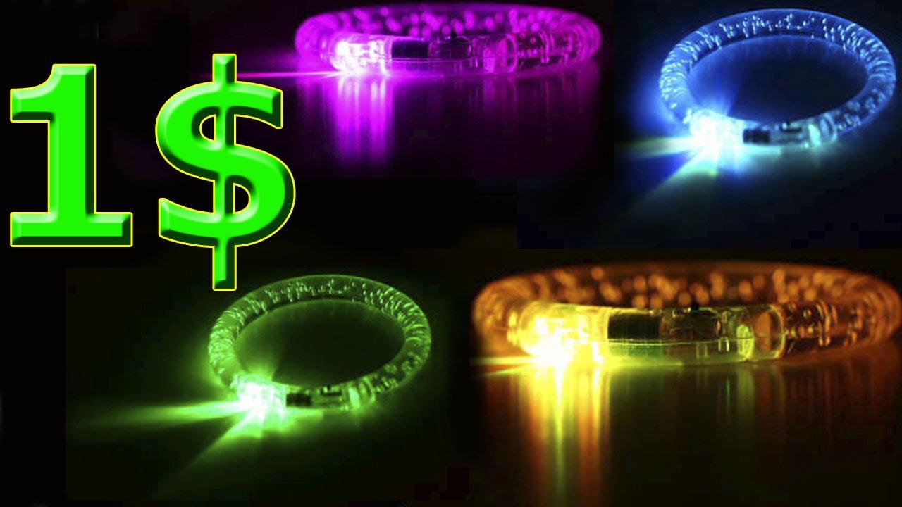 Светящиеся браслеты на алиэкспресс