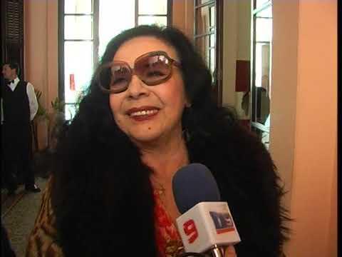 El día en que la Coca Sarli fue homenajeada en Entre Ríos, su tierra natal