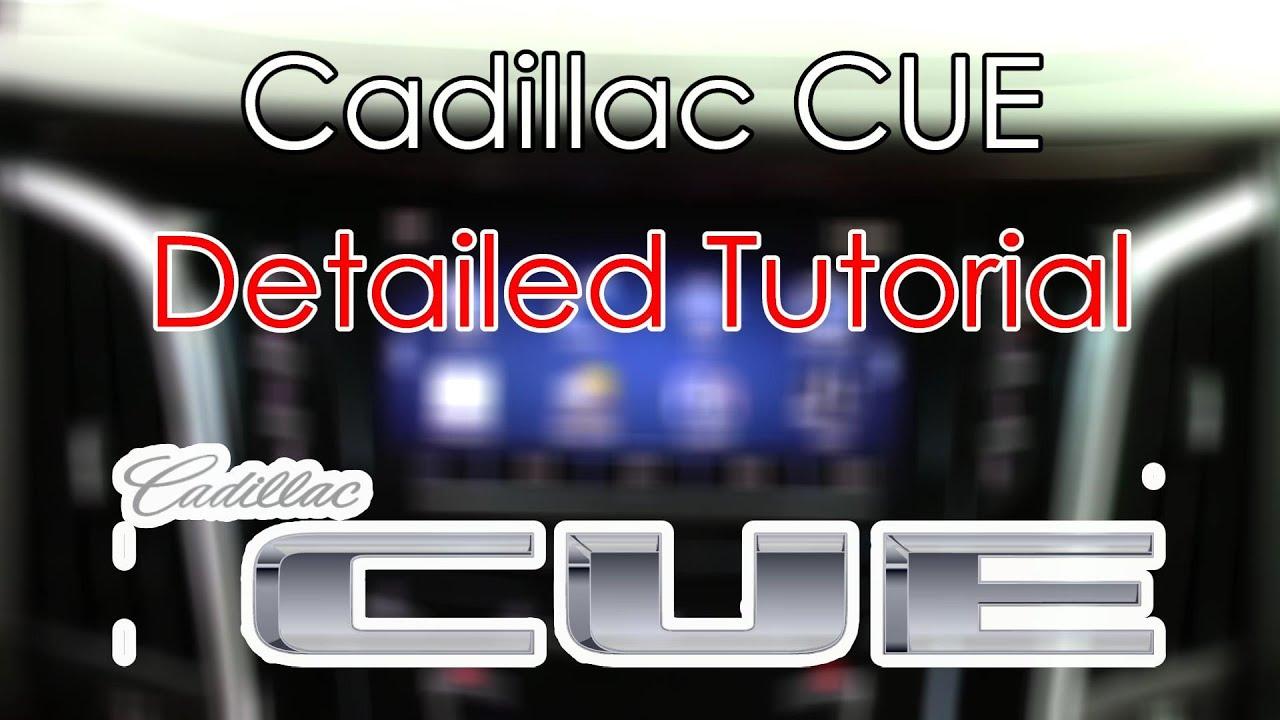 cadillac cue system detailed tutorial tech help youtube rh youtube com 2015 cadillac cue manual Cadillac CUE Pandora