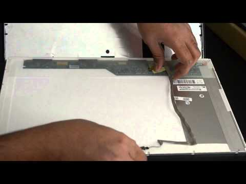 Laptop Screen Replacement / How To Replace Laptop Screen - Toshiba Satellite C675-S7106