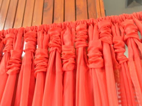 How I Made My Swags And Ruched Curtain Panels