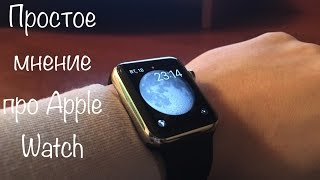 Обзор и мнение о Apple Watch 42mm stainless steel case with black sport band