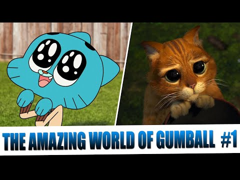 The Amazing World Of Gumball Tribute To Cinema (Part 1)