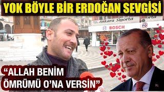 """""""Benim ömrümden alsın, Erdoğan'a versin"""" Böyle Erdoğancı görülmedi (Kesintisiz)"""
