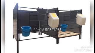 Оборудование для содержания телят