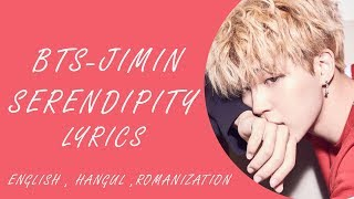 Video Serendipity lyrics - BTS JIMIN (color coded) Hangul , romanization , English download MP3, 3GP, MP4, WEBM, AVI, FLV Juli 2018