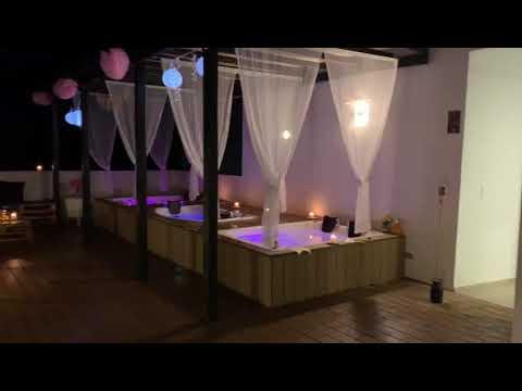 Terraza Nocturna en Hotel Quinto Nivel