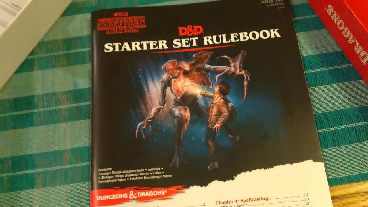 Stranger Things Dungeons & Dragons Starter Set Review | Tim