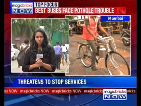 BEST complains to BMC about potholed roads in Mumbai - The News