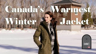 CANADA'S BEST WARMEST WINTER JACKET | CANADIANKELSEY