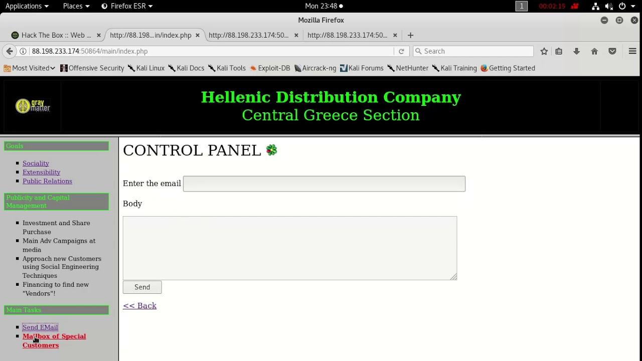 HDC [by Thiseas] HackTheBox - Смотреть видео бесплатно онлайн