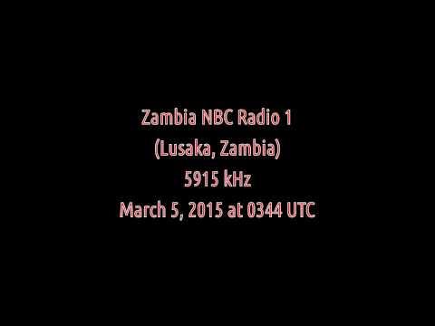 Zambia NBC Radio 1 (Lusaka, Zambia) - 5915 kHz