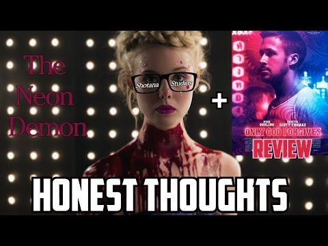 The Neon Demon |  Official Trailer Review + Only God Forgives Review