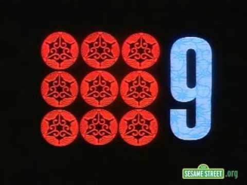 Sesame Street Rubber Stamps 16 Sesame Street Number