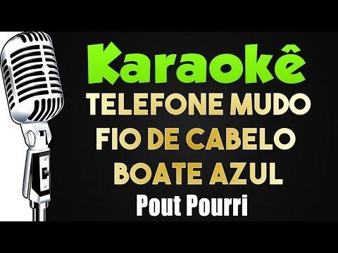 🎤 Telefone Mudo Fio de Cabelo  Boate Azul - Karaokê