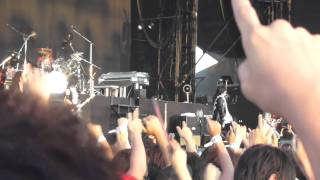 X Japan - Kurenai - Summer Sonic Osaka 2011