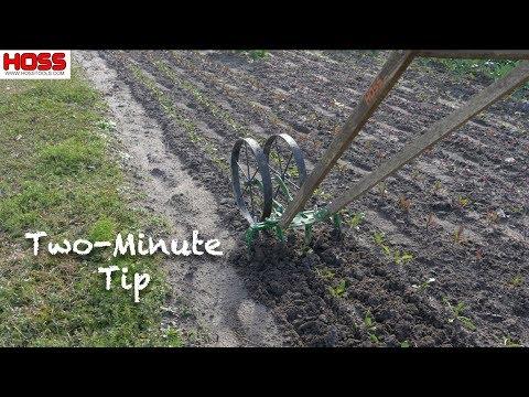 Wheel Hoe Blog - Hoss Tools