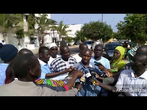 SENEGAL - CAP: conférence de presse