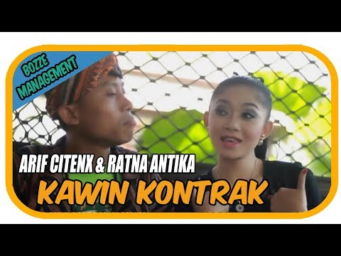 KAWIN KONTRAK - ARIF CITENX & RATNA ANTIKA [ OFFICIAL KARAOKE MUSIC VIDEO ]