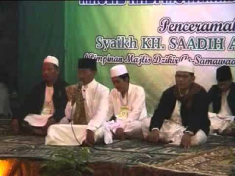 Sholawat Nariyah Oleh Guru Besar manbaul anwar KH.Ammar Sya