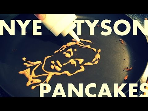 Bill Nye Looks Good As A Pancake